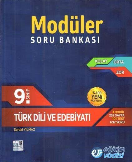 Eğitim Vadisi 9. Sınıf Türk Dili ve Edebiyatı Modüler Soru Bankası
