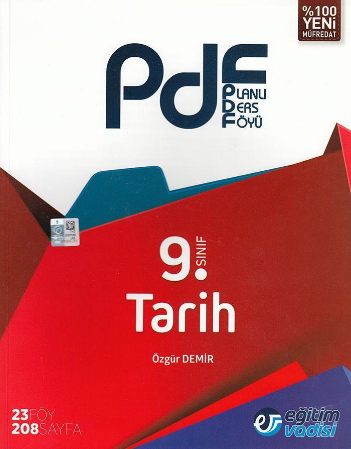 Eğitim Vadisi 9. Sınıf Tarih PDF Planlı Ders Föyü