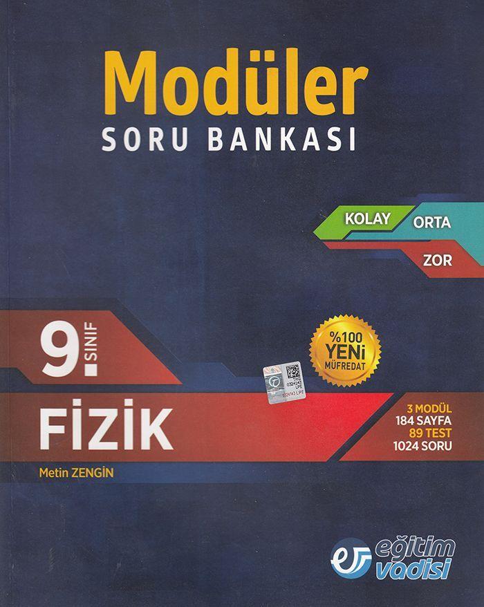 Eğitim Vadisi 9. Sınıf Fizik Modüler Soru Bankası
