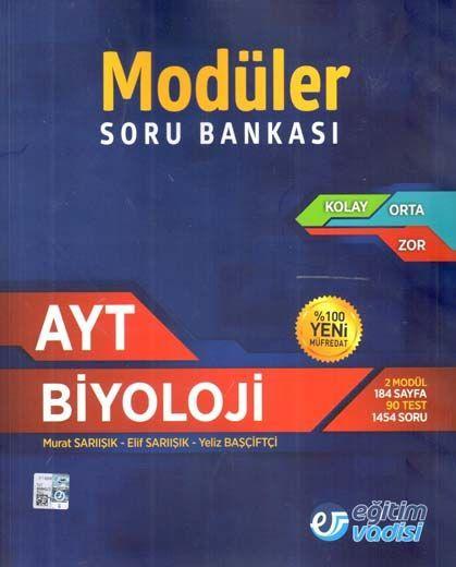 Eğitim Vadisi AYT Biyoloji Modüler Soru Bankası