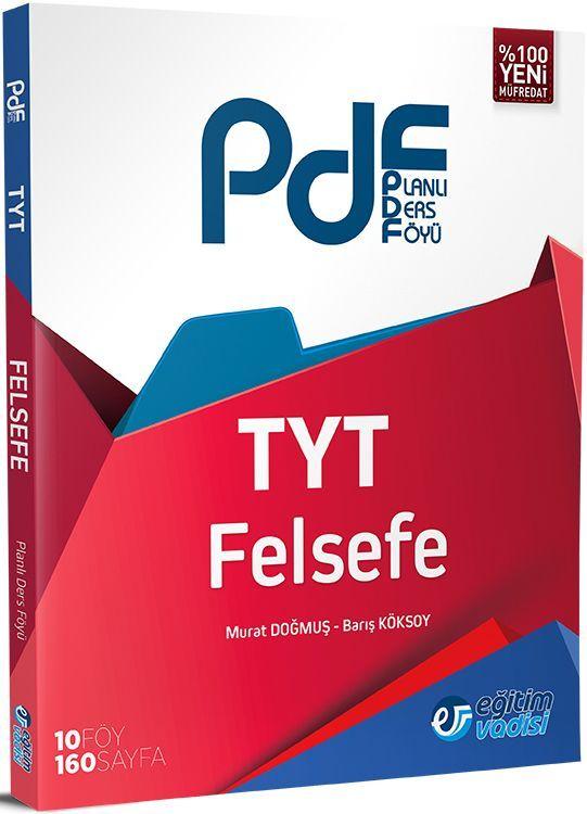 Eğitim Vadisi TYT Felsefe PDF Planlı Ders Föyü