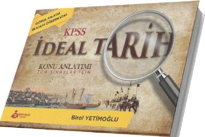 Eğitimdeyiz Yayınları KPSS İdeal Tarih Konu Anlatımı