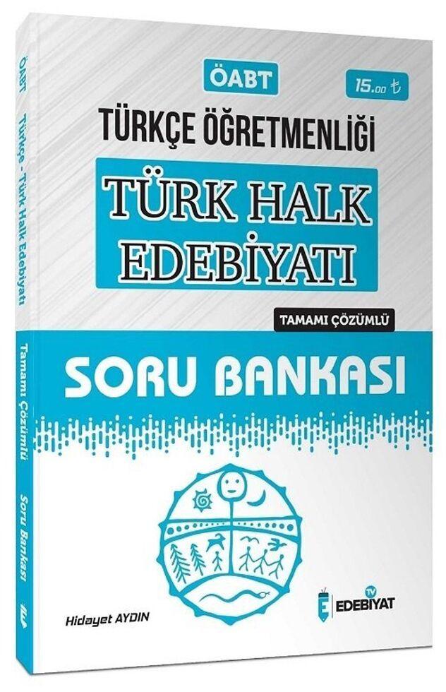 Edebiyat TV Yayınları 2020 ÖABT Türkçe Öğretmenliği Türk Halk Edebiyatı Soru Bankası Çözümlü