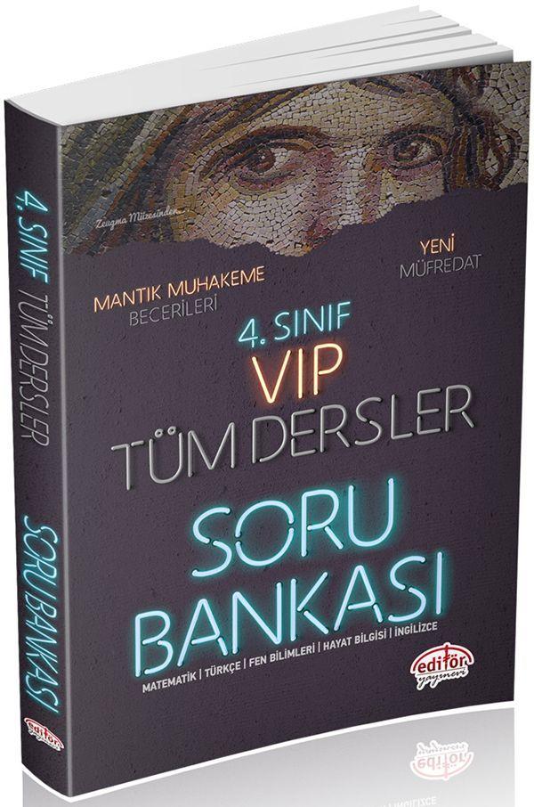 Editör Yayınları 4. Sınıf Tüm Dersler Soru Bankası