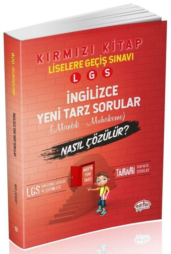 Editör Yayınları LGS İngilizce Mantık ve Muhakeme Soruları Nasıl Çözülür