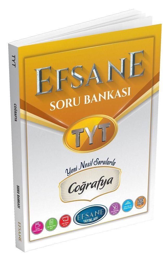 Efsane Yayınları TYT Coğrafya Soru Bankası