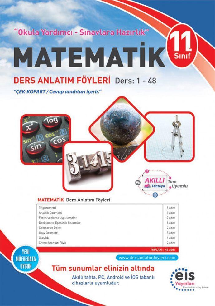 Eis Yayınları 11. Sınıf Matematik DAF Ders Anlatım Föyleri