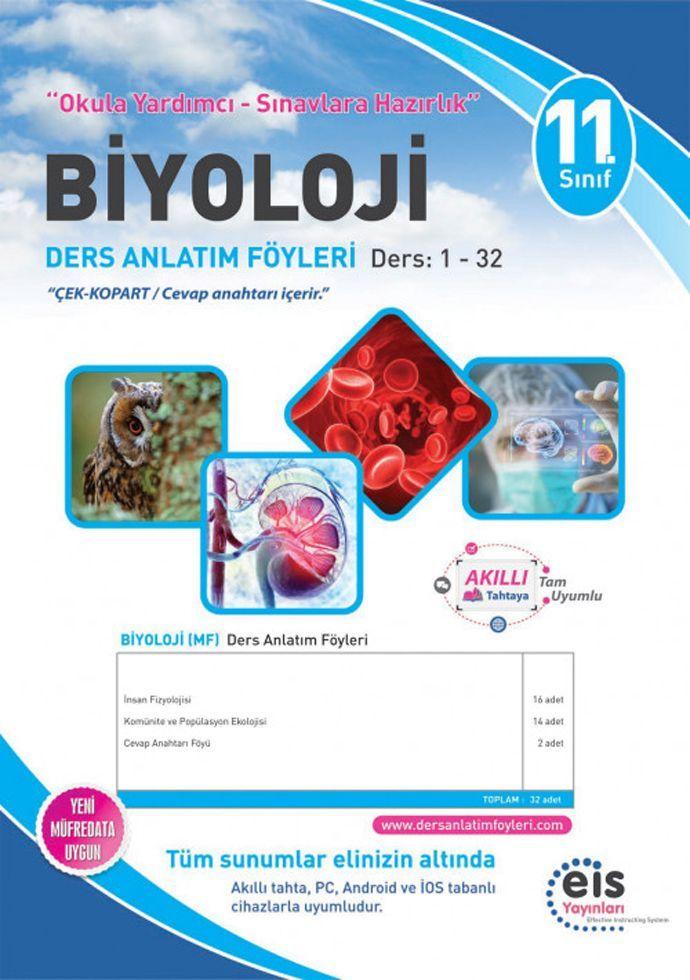 Eis Yayınları 11. Sınıf Biyoloji DAF Ders Anlatım Föyleri