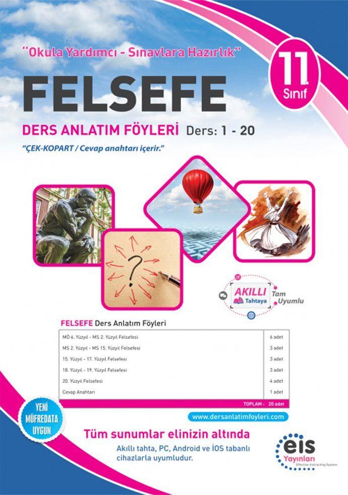 Eis Yayınları 11. Sınıf Felsefe DAF Ders Anlatım Föyleri