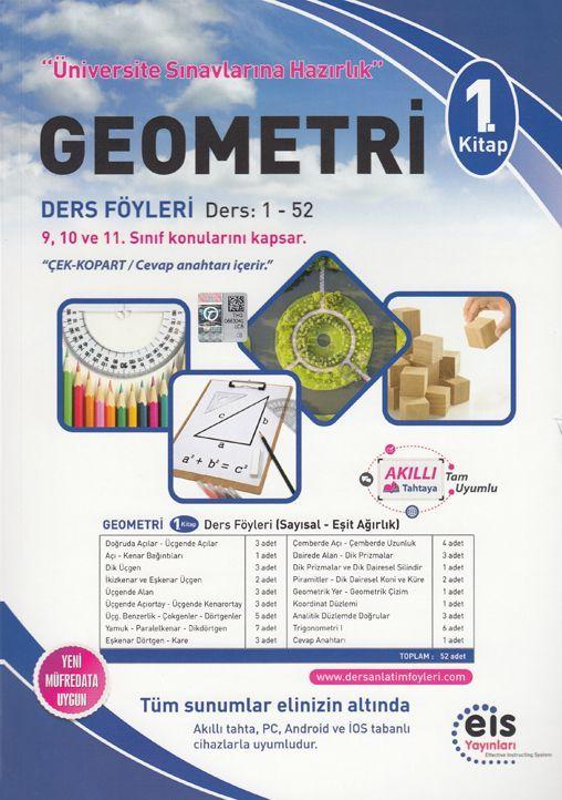 Eis Yayınları Geometri DAF Ders Anlatım Föyleri Üniversite Sınavlarına Hazırlık 1. Kitap 1-52