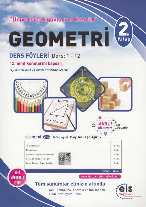Eis Yayınları Geometri DAF Ders Anlatım Föyleri Üniversite Sınavlarına Hazırlık 2. Kitap 1-12