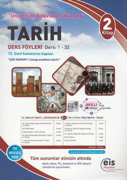 Eis Yayınları Tarih DAF Ders Anlatım Föyleri Üniversite Sınavlarına Hazırlık 2. Kitap 1-32