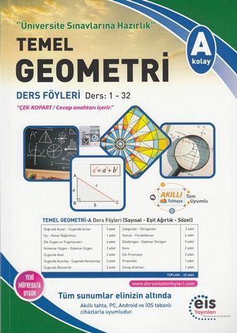 Eis Yayınları Temel Üniversite Sınavlarına Hazırlık Temel Geometri A Serisi Ders Föyleri