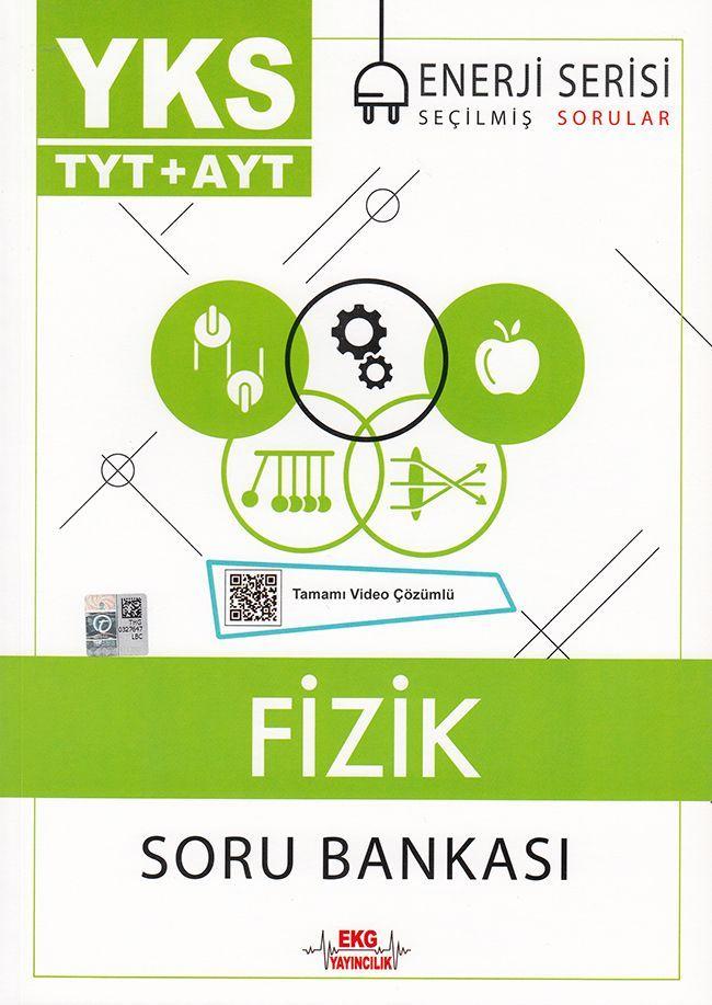 EKG Yayıncılık TYT AYT Fizik Soru Bankası Enerji Serisi