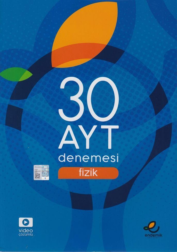 Endemik Yayınları AYT Fizik 30 Denemesi