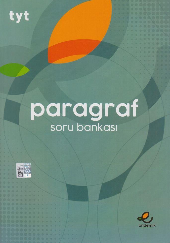 Endemik Yayınları TYT Paragraf Soru Bankası