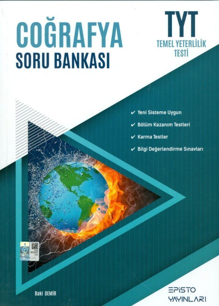 Episto Yayınları TYT Coğrafya Soru Bankası