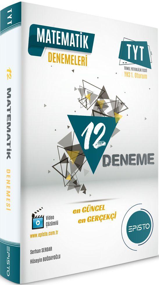 Episto Yayınları TYT Matematik 12li Denemeleri