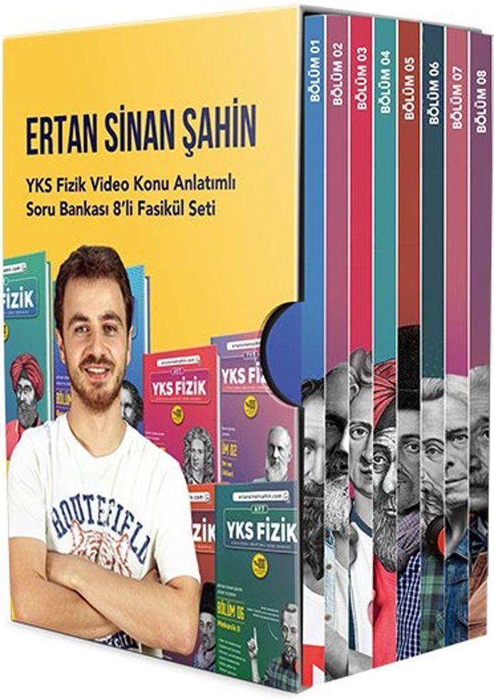 Ertan Sinan Şahin YKS Fizik Video Konu Anlatımlı Soru Bankası Fasikülleri Seti
