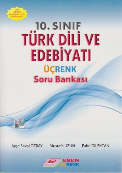 Esen Üçrenk Yayınları 10. Sınıf Türk Dili ve Edebiyatı Soru Bankası