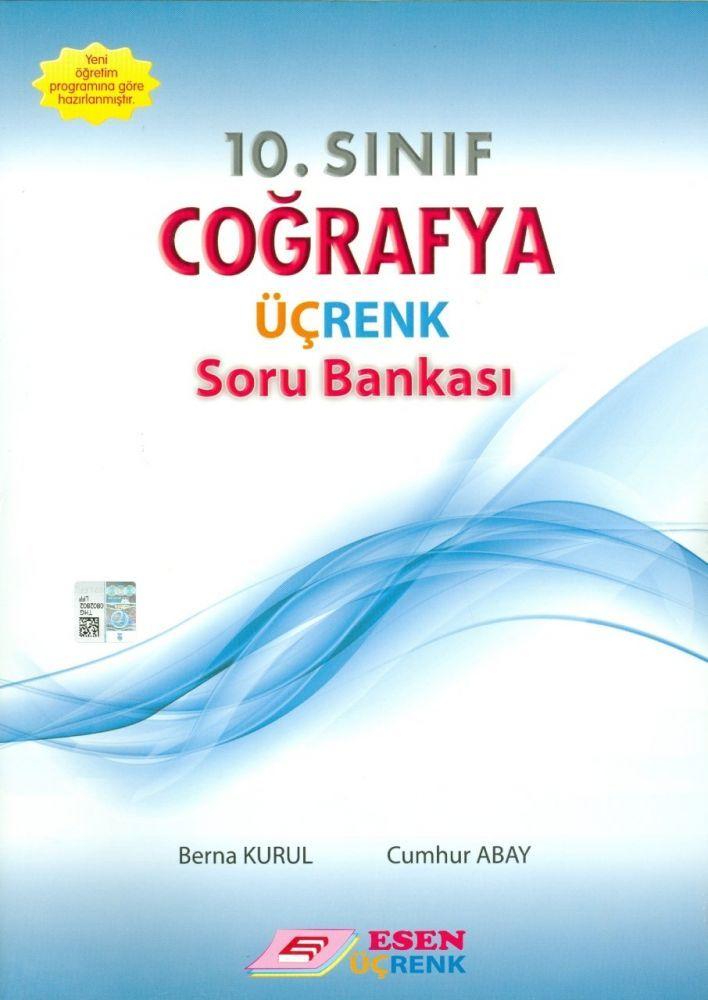 Esen Üçrenk Yayınları 10. Sınıf Coğrafya Soru Bankası
