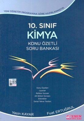 Esen Yayınları 10. Sınıf Kimya Konu Özetli Soru Bankası