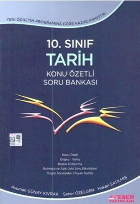 Esen Yayınları 10. Sınıf Tarih Konu Özetli Soru Bankası