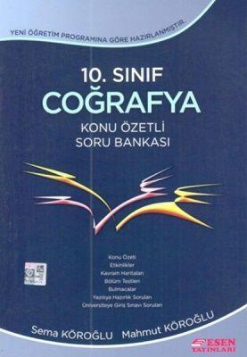 Esen Yayınları 10. Sınıf Coğrafya Konu Özetli Soru Bankası