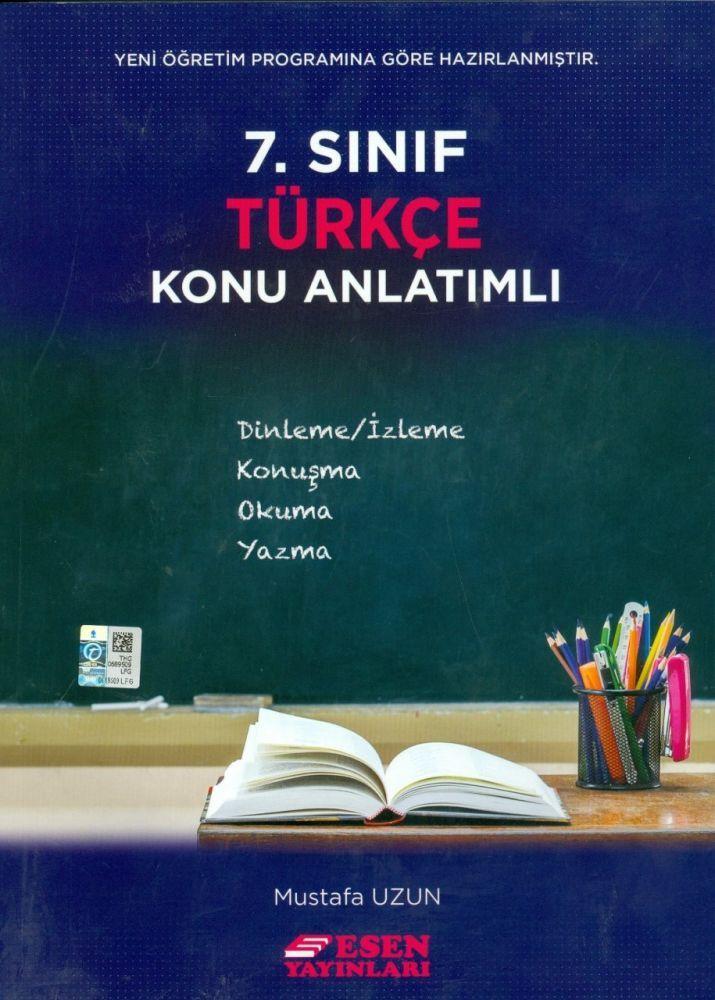 Esen Yayınları 7. Sınıf Türkçe Konu Anlatımlı