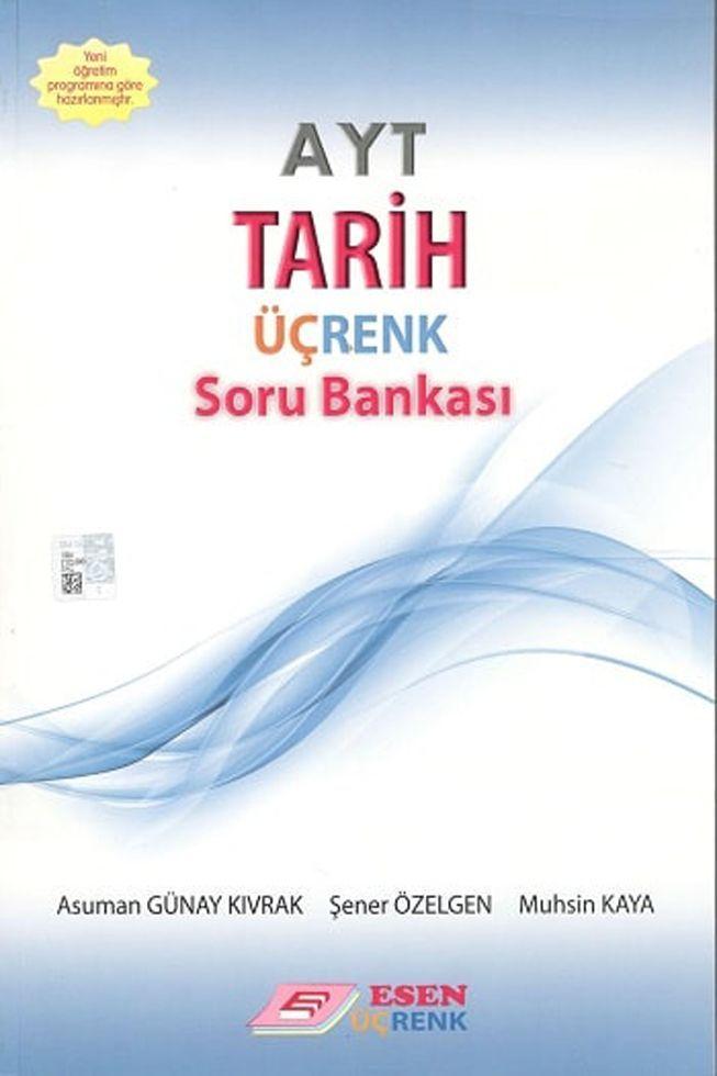 Esen Yayınları AYT Tarih Üçrenk Soru Bankası