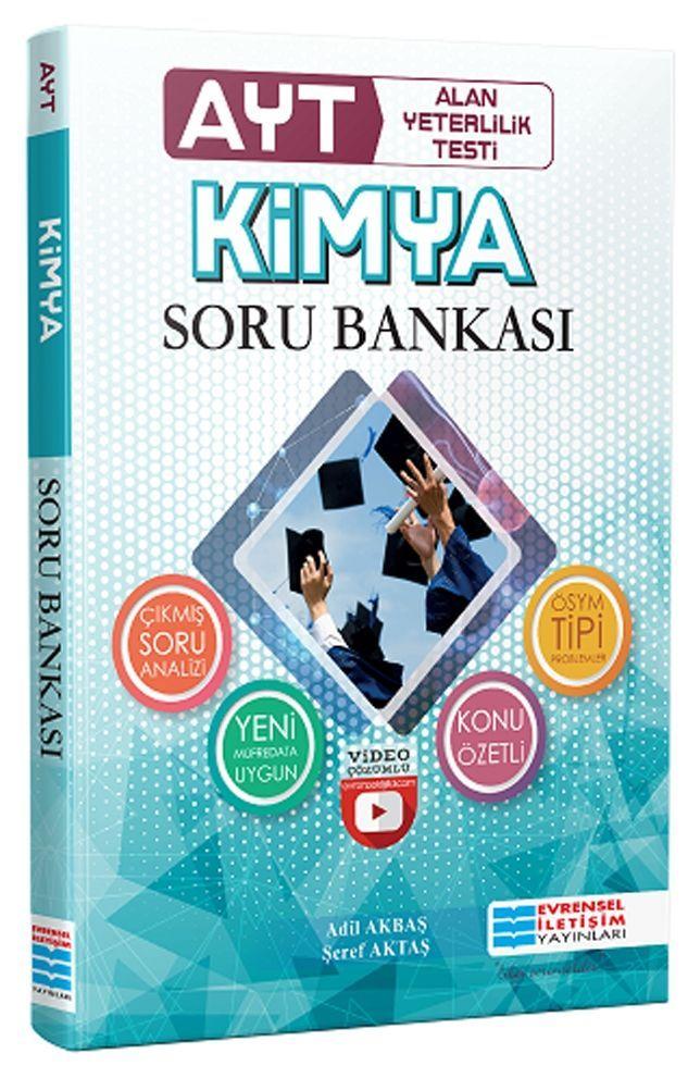 Evrensel İletişim Yayınları AYT Kimya Video Çözümlü Soru Bankası