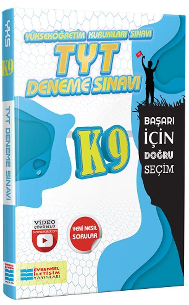 Evrensel İletişim Yayınları TYT K9 Video Çözümlü Deneme Sınavları