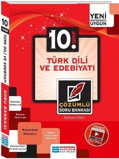 Evrensel İletişim 10. Sınıf Türk Dili ve Edebiyatı Video Çözümlü Soru Bankası