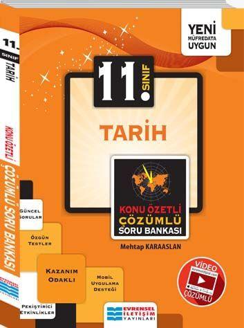 Evrensel İletişim Yayınları 11. Sınıf Tarih Konu Özetli Çözümlü Soru Bankası