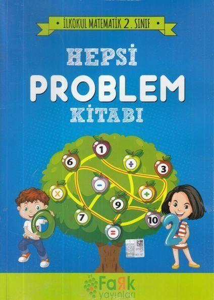 Fark Yayınları 2. Sınıf İlkokul Matematik Hepsi Problem Kitabı