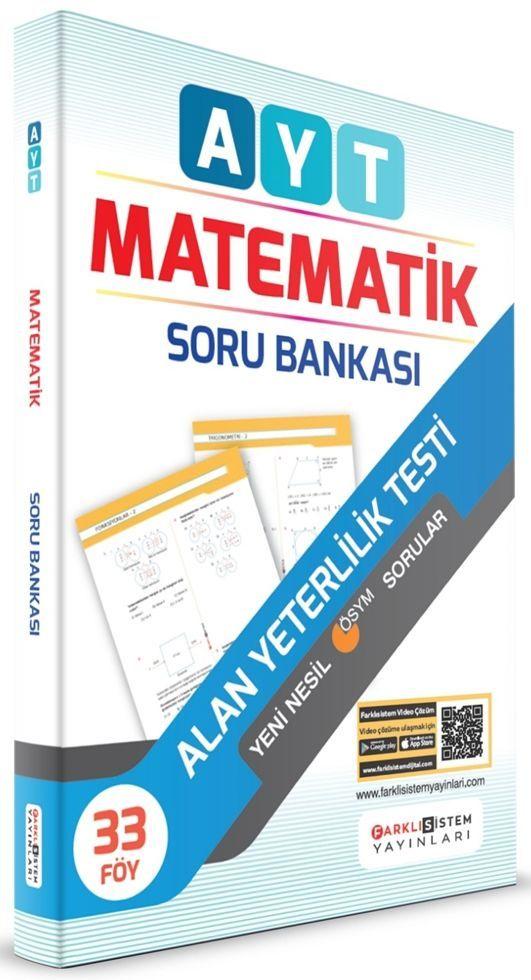 Farklı Sistem Yayınları AYT Matematik Soru Bankası