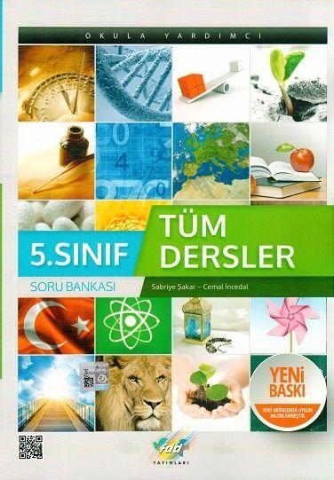 FDD Yayınları 5. Sınıf Tüm Dersler Soru Bankası