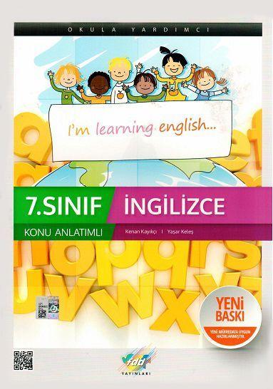 FDD Yayınları 7. Sınıf İngilizce Konu Anlatımlı