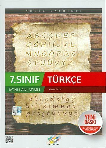 FDD Yayınları 7. Sınıf Türkçe Konu Anlatımlı