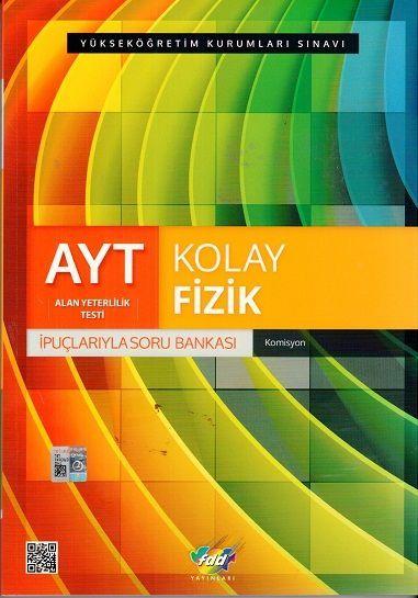 FDD Yayınları AYT Kolay Fizik İpuçlarıyla Soru Bankası