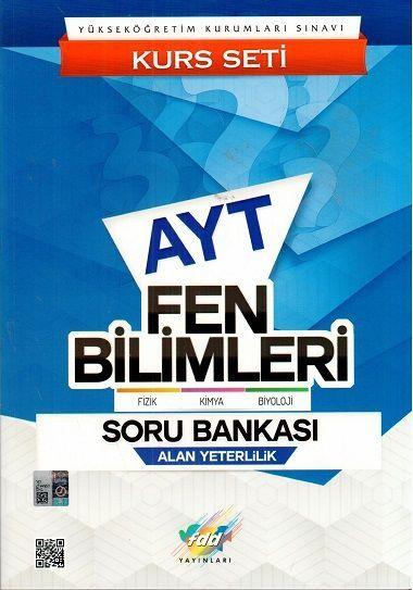 FDD Yayınları AYT Fen Bilimleri Soru Bankası Kurs Seti