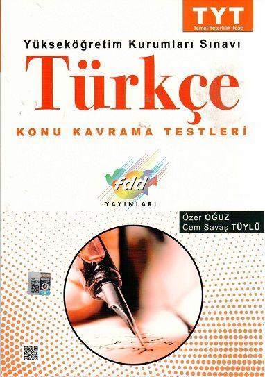 FDD Yayınları TYT Türkçe Konu Kavrama Testleri