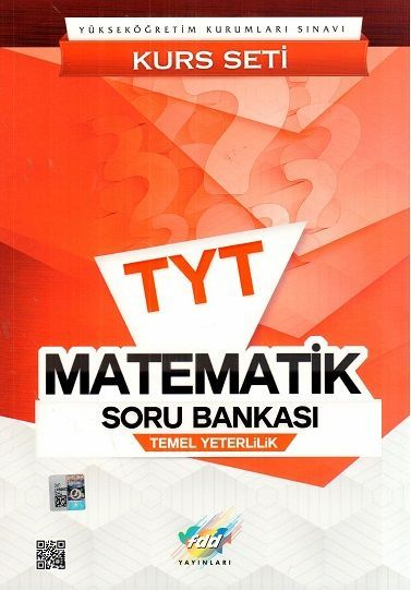 FDD Yayınları TYT Matematik Soru Bankası Kurs Seti