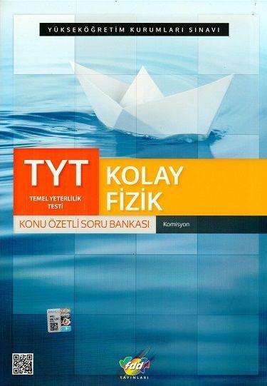 FDD Yayınları TYT Kolay Fizik Konu Özetli Soru Bankası