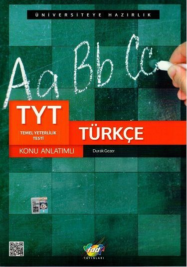 FDD Yayınları TYT Türkçe Konu Anlatımlı