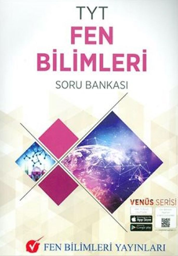 Fen Bilimleri Yayınları TYT Fen Bilimleri Soru Bankası Venüs Serisi