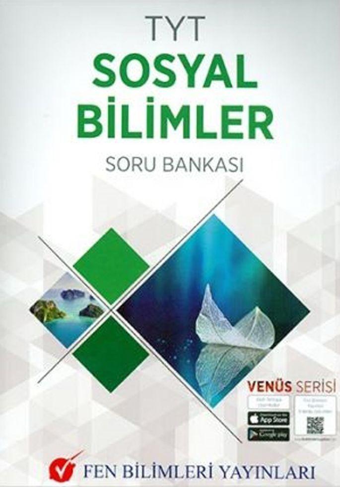 Fen Bilimleri Yayınları TYT Sosyal Bilimler Soru Bankası Venüs Serisi