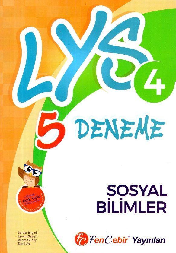 FenCebir Yayınları LYS 4 Sosyal Bilimler 5 Deneme