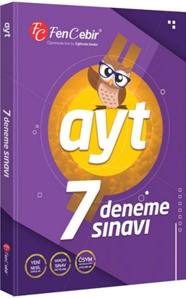FenCebir Yayınları AYT 7 Deneme Sınavı