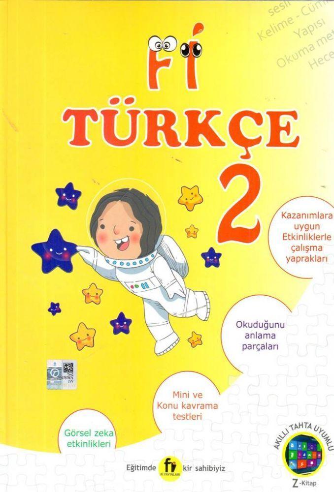 Fi Yayınları 2. Sınıf Türkçe Soru Bankası